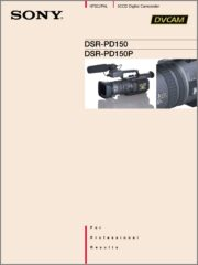 DSR-PD150 / DSR-PD150P 2000年